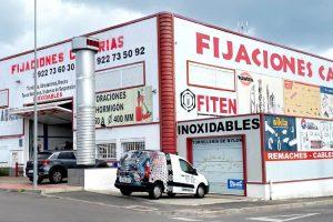 Fijaciones Canarias tienda Sur